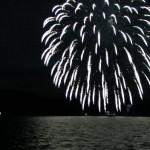 Feuerwerk auf dem Toyasee